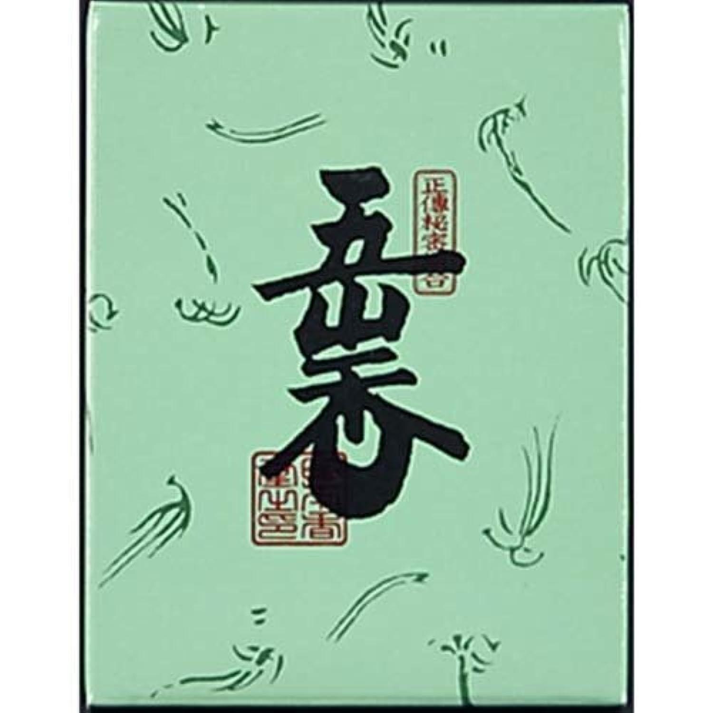 同意自明のヒープ五山香 紙箱 30g入