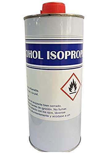 Alcohol Isopropilico Limpieza optica desengrasante 1 Litro