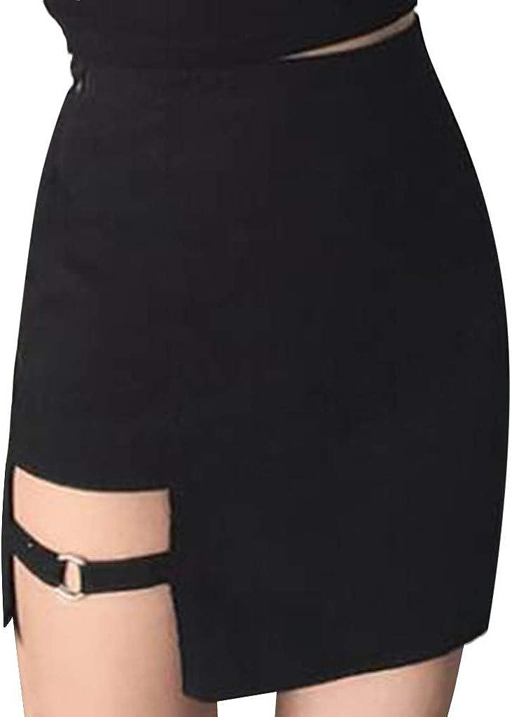 Rambling New Skirt for Women Short Skirt Splice Uniform Mini Dress