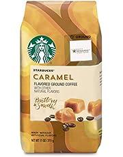 Starbucks Caramel Flavored Medium Roast Ground Kaffe 11Oz