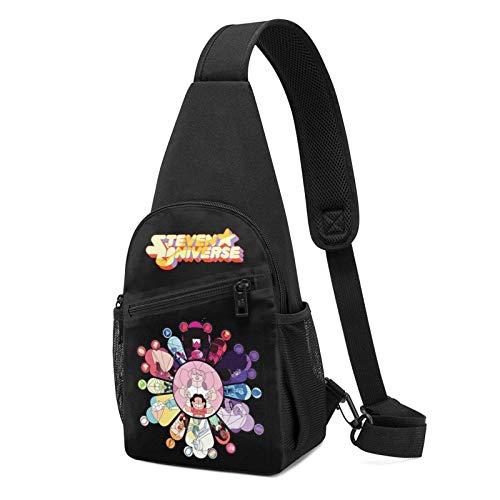Steven Universe Chest Bag Shoulder Backpack Hiking Daypack Pattern Rope...