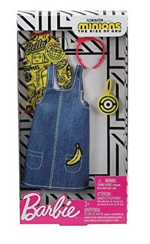 Barbie Minions Dress Accessory GHX90 - Fashion # 3 Clothing for