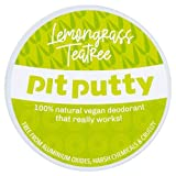 Pit Putty 65g   Vegan & Eco-Friendly Deodorant Balm   100% Natural Deodorant For Women & Men...