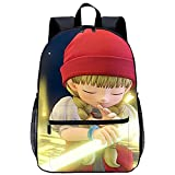 Mochila 3D Mochilas Escolares-Dragon Quest XI-Adecuado para: estudiantes de primaria y secundaria, la mejor opción para viajes al aire libre-Tamaño: 45x30x15 cm / 17 pulgadas-Mochila Infantil para C