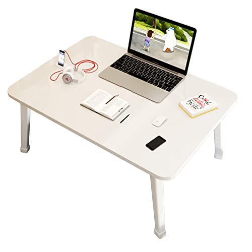 Escritorio de regazo, escritorio de la cama, cama de dormitorio para estudiantes, mesa plegable perezosa, dormitorio del hogar, estudio simple, escritorio plegable (extra grande) (color: B)