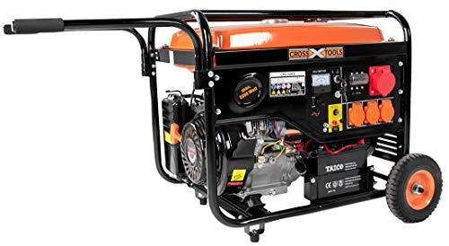 Cross Tools 68037 CPG 5500 E Benzin Stromerzeuger Stromaggregat Generator 7,6 kW