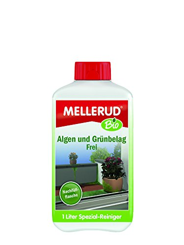 MELLERUD Bio, Prodotto bio per rimuovere tracce di alghe e muschio 1lt - 2021018320