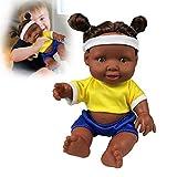 Alian Afrikanische Puppe, Neue Schwarze Puppe Puppe Afrikanische grüne Gummipuppe.