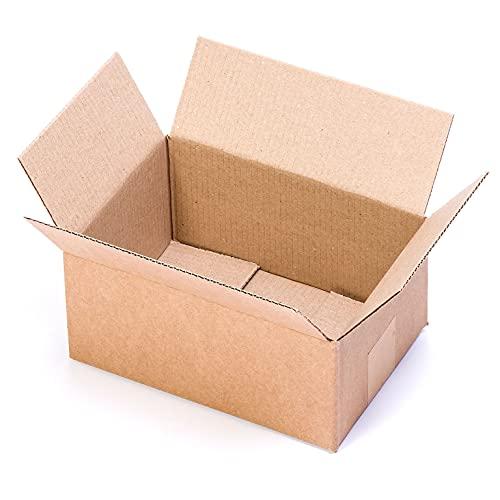 TeleCajas® | 228x160x102 mm | (30x) Caja Cartón Pequeña Envios | Pack de 30 uds.