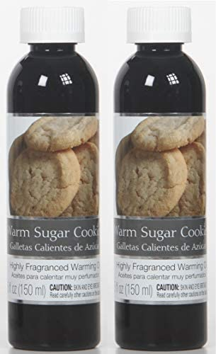 Hosley Warm Sugar Cookies Fragrance Warming Oils Set of 2 5oz Each Ideal Gift for Weddings spa product image