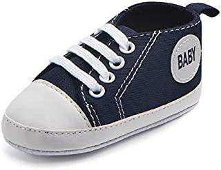 B8 0-6 Months Baby Shoes Boy Girl Solid Sneaker Cotton Soft Anti-Slip Sole Newborn Infant First Walkers Toddler Casual Sport Crib Shoes