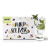 Kit Hard Seltzer, receta Mojito. Elabora la bebida de moda. 7,5 litros. Sin gluten.