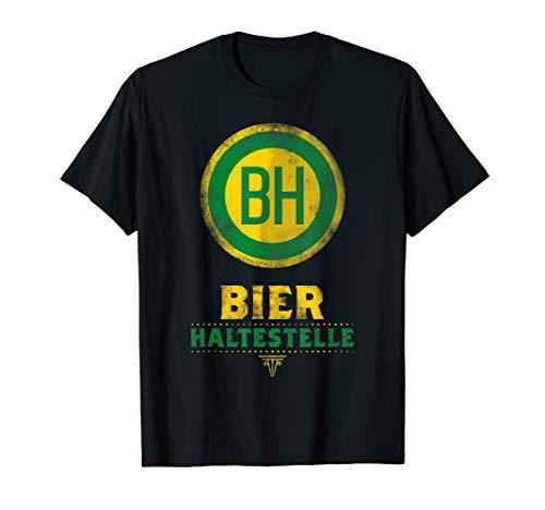 BH Bier Haltestelle - Verkleidung Gruppen Kostüm Shirt