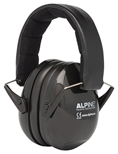Alpine MusicSafe Ohrenschützer Schutz für Musiker, schwarz