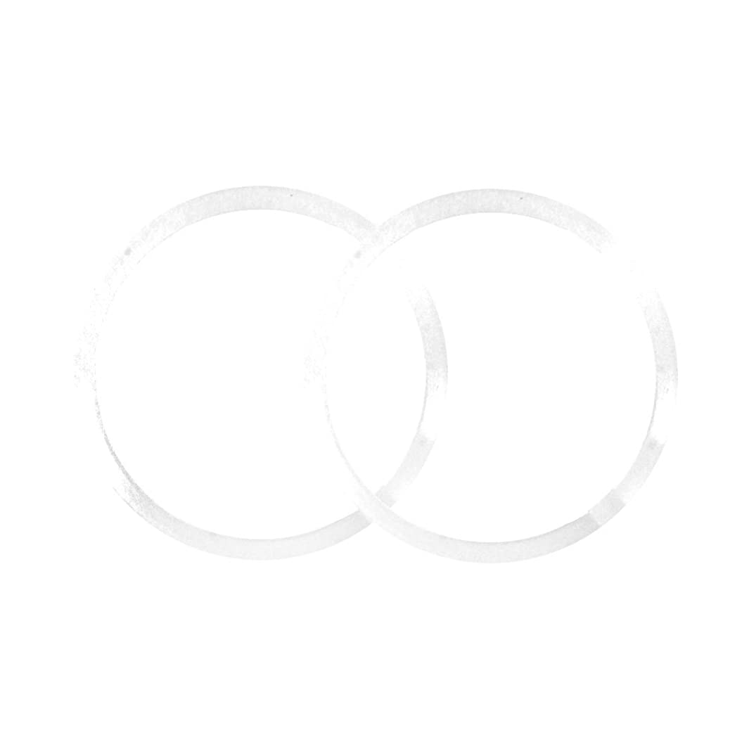 Polyethylene Beveled Washers 1-1/4