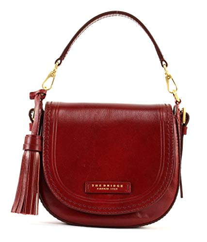 The Bridge Pearldistrict Crossover Bag M Rosso Ribes