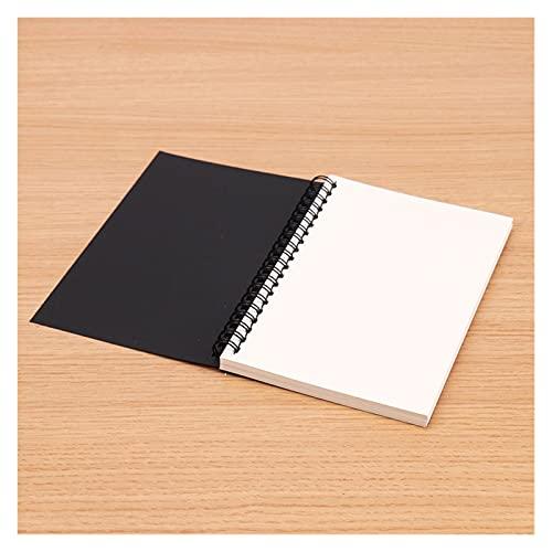 Creative Simple Kraft Papel Material Doble Bobina Anillo Spiral Cuaderno Sketchbook Diario para dibujar Pintura Papel Bloc de notas (Color : D)