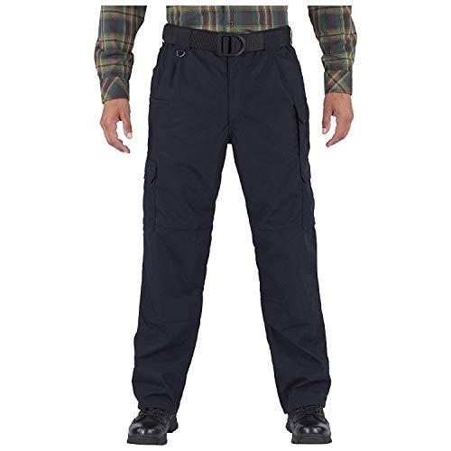 5.11 Men's Taclite Flannel Lined Pants, Dark Navy, 44W-34L