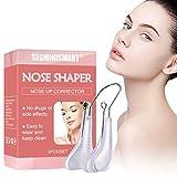 Nose Clip, Naso Shaper Clip, Nose Up Clip, Naso Up Lifting Shaping Shaper,Raddrizzamento, Correttore raddrizzatore per ponte nasale,Con silicone morbido