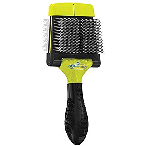 FURminator Soft Grooming Slicker Brush, Dog, Small