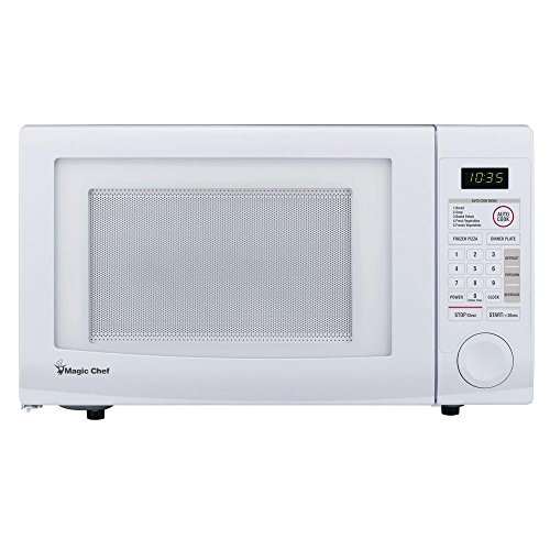 Magic Chef 1.1 cu. ft. Countertop Microwave in White