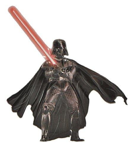 alles-meine.de GmbH 3-D Glow in The Dark ! Wandtattoo / Fensterbild / Sticker - Anakin Skywalker Darth Vader - Star Wars - wasserfest - selbstklebend Glowing
