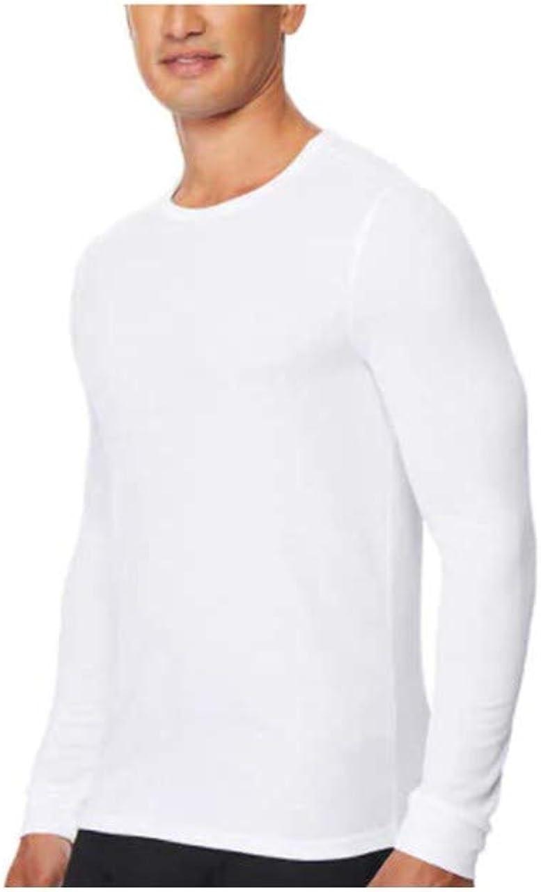 32 DEGREES Men's Heat Long Sleeve Scoop Neck Tee 2-Pack