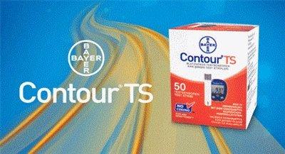 Bayers Contour TS Teststreifen-50 Stück (50 ST)