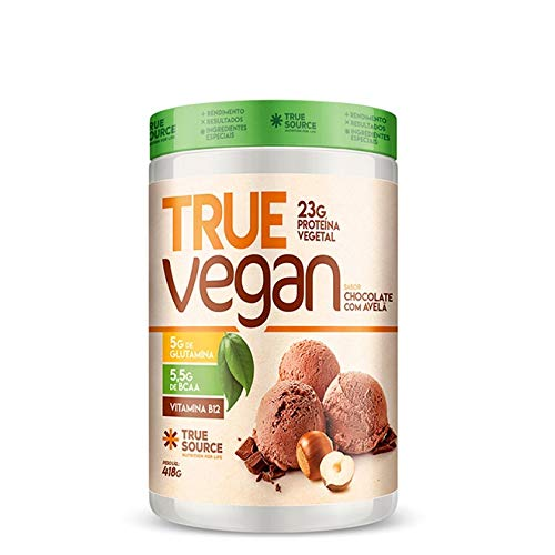 True Vegan (418g) - Chocolate c/Avelã, True Source