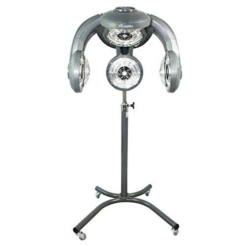 SalonPro Multi-Zone+ Hair Color Processor & Dryer Accelerator w/Rolling Base