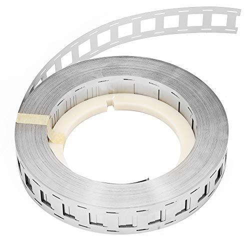Lithium Batterie Nickel Streifen BiuZi 1 Stück 1000g Double Line Batterie Reinnickel Gürtel 18650 Lithium Batterie Nickel Gürtel (25,5 * 18,5 Mm, 27 * 20,3 Mm) (Größe : 25.5 * 18.5mm) …