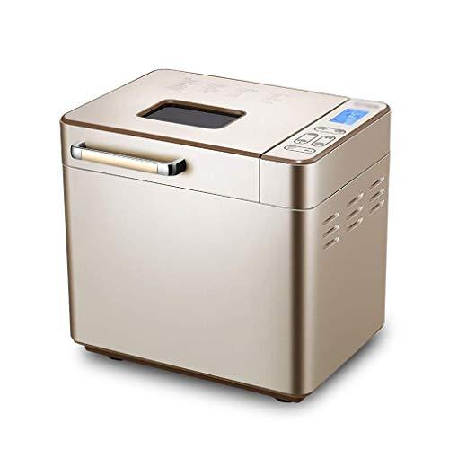 Zixin Edelstahl-Brot-Maschine, Programmierbare Brotbackautomat mit Frucht-Nuss-Zufuhr, Nonstick Keramik Pan, Glutenfrei-Einstellung, Halten Reserve Warm Set