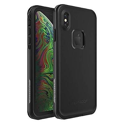 Lifeproof FR? SERIES Waterproof Case for iPhone Xs Max - Retail Packaging - ASPHALT (BLACK/DARK GREY)