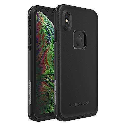 Lifeproof FR SERIES Waterproof Case for iPhone Xs Max - Retail Packaging - ASPHALT (BLACK/DARK GREY)