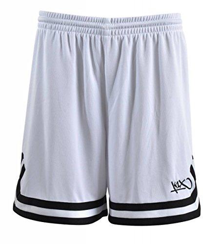K1X Hardwood Double X Shorts mk2 Basketball weiß-schwarz Damen weiß/schwarz, 2XL