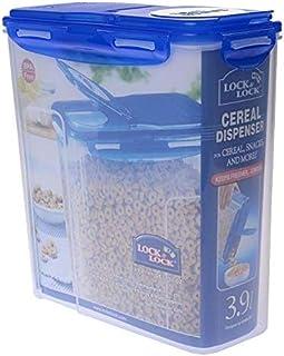 23,5/cm Transparente Galileo Casa pl/ástico Dispensador para Cereales La Cucina