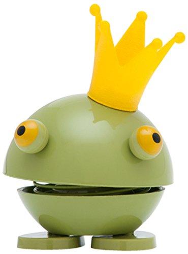 Hoptimist Baby Princess Kvik, Petit, Grenouille avec Couronne, Idée Déco/Jouet, Plastique, Vert, 8008-50