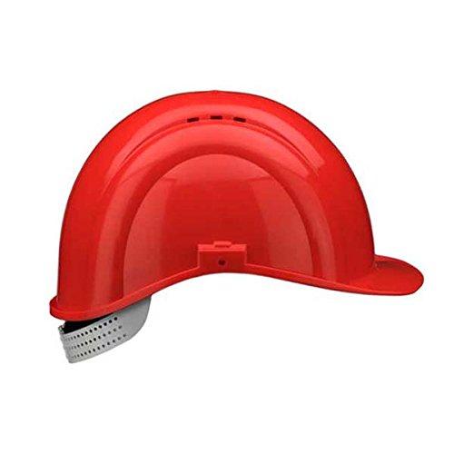 Voss Elmetto antinfortunistico' Inap-Defender-4', colore: rosso carminio, 11603002