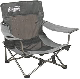 Coleman Quad Deluxe Mesh Event Chair, Grey