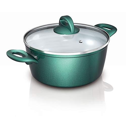 Genius Cerafit Fusion Topf Ø 20 cm (2 Teile) Kochtopf für Speisen - dank Lotus-Effekt einfach zu reinigen