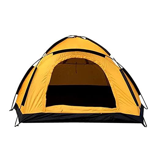 Tienda de Campaña 1/2 Personas, Tienda de Camping Ligero Impermeable Anti Viento, Tienda Domo para Senderismo Excursionismo Trekking Mochileros Montañismo Acampar Escalada Viaje, Fácil de Montar
