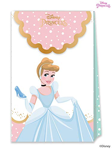 Disney Princess 79103 Partytüten, rose