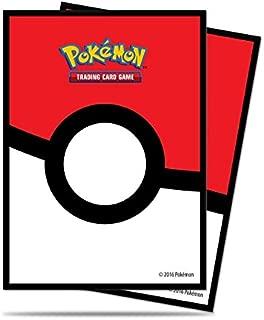 Ultra Pro Pokemon Poke Ball Deck Protectors Sleeves (65 Count) Standard Size