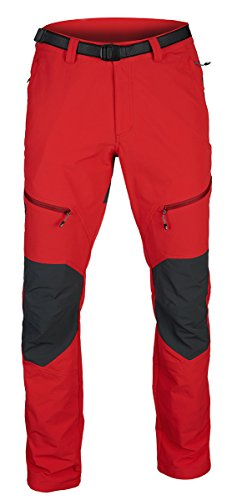 Ternua High Points – Pantalon pour Homme M Rouge/Gris Sombre