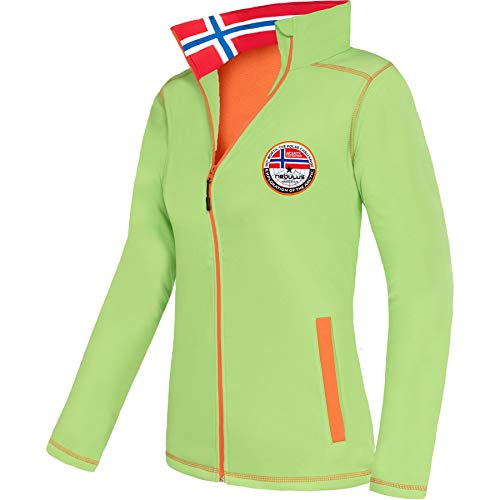 Nebulus Softshelljacke PUKA Damen (Model: P5544 - Damen, Lime-orange; Größe: XL/42) FBA
