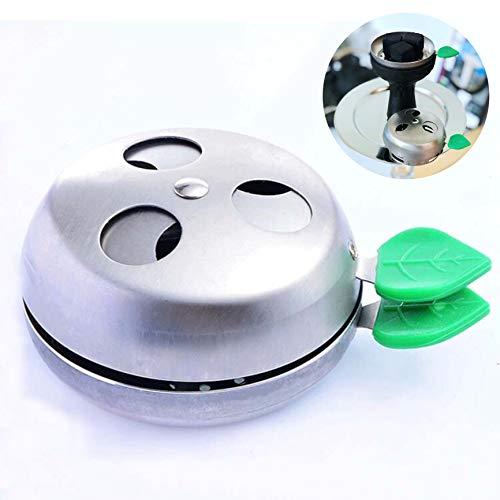 Gestor de Calor Shisha,Regulador de Carbón Provost Cachimba Apple Accesorios