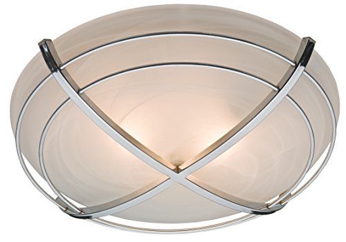 Hunter 81030 Halcyon Bathroom Exhaust Fan and Light in Contemporary Cast Chrome