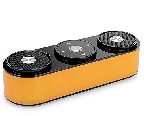 Smart-Bluetooth-Lautsprecher, tragbare Karte, Handy, Super-Bass, multifunktional, kabellos, einfach-weiß
