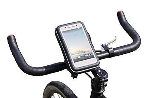 Navitech - Soporte y Funda Impermeable para Bicicleta y Moto Compatible con Huawei P8 Lite 2017