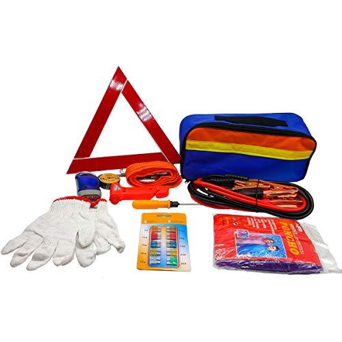 11-in-1 Car Emergency Tool Set Breakdown Assistance Set Car Safety Kit...
